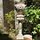 Thumbnail: Macetero de porcelana con columna Alfal.
