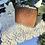 Thumbnail: Antiguo bolso mini de cuero labrado .