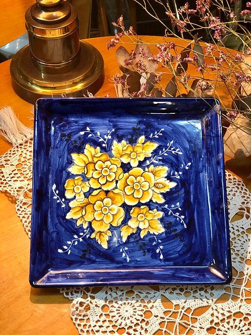 Plato de cerámica de Talavera ,