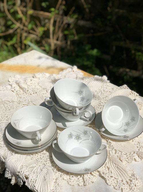 Juego Porcelana Santa Clara