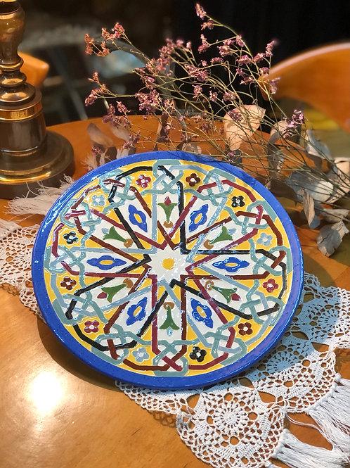Plato cerámica Quismondo (Toledo)