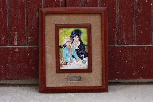 Esmalte hecho a mano de Renoir