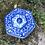 Thumbnail: Tibor grande de porcelana con dibujos orientales .