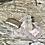 Thumbnail: Joyero de cristal tallado con tapa de alpaca.