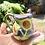Thumbnail: Jarrita pequeña con girasoles.