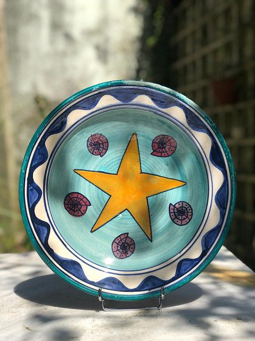 Plato decorado. Cerámicas Safi - Marruecos.