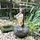 Thumbnail: Jarrón de jardín con figura de niño .