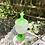 Thumbnail: Bombonera de cristal mate verde.