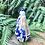 """Thumbnail: Botella """"Nosa señora da Barca"""" , Sargadelos ."""