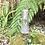 Thumbnail: Jarra de cristal tallado con plata .