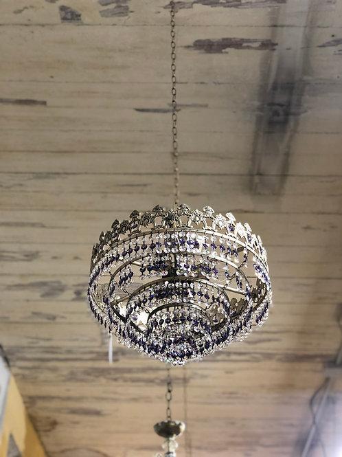 Lámpara de techo cristal de Strass