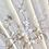 Thumbnail: Abanico de madera tallada y seda bordada a mano .