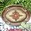 Thumbnail: Bandeja de madera policromada,