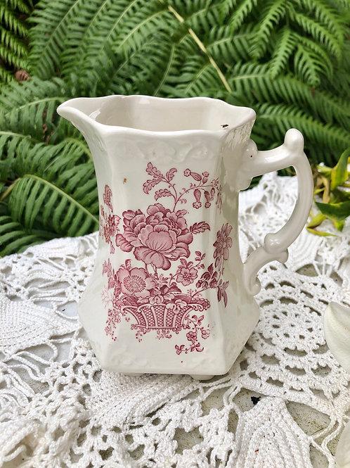 Antigua jarra grande de porcelana Crown Devon (England)