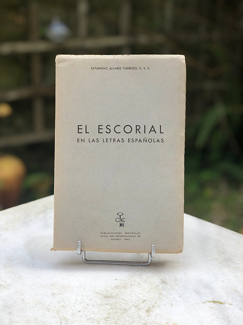 El Escorial en las Letras Gallegas, 1963