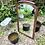 Thumbnail: Marco de madera con espejo biselado .