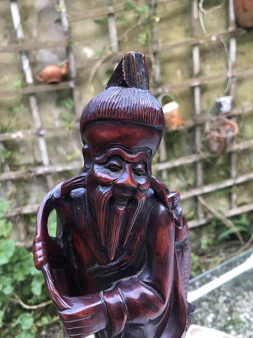 Talla de madera china.