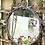 Thumbnail: Espejo de bronce acabado plata.