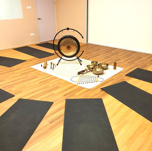 Gong bath at mindful space