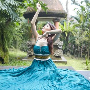 Nashwa dance teacher at mindful space