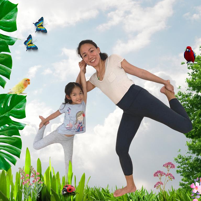Family Mindfulness & Yoga @ Garden