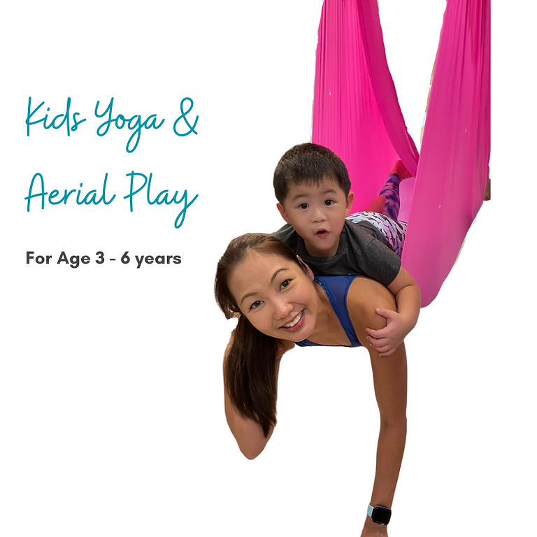 Weekly Kids Yoga + Aerial (Age 3 - 6)