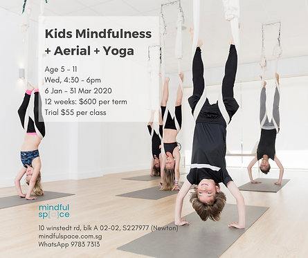 Kids Mindfulness  + Aerial + Yoga