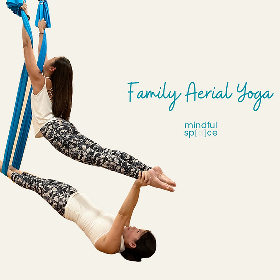 Family Aerial Yoga (Parent & Child) Workshop