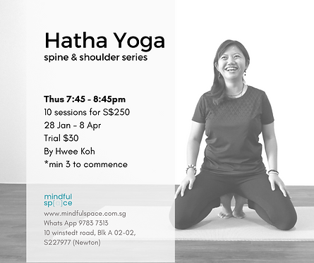 Hatha Yoga - Spine and Shoulder Series