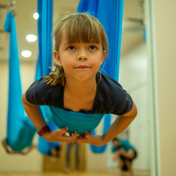 Kids Aerial Yoga Workshop