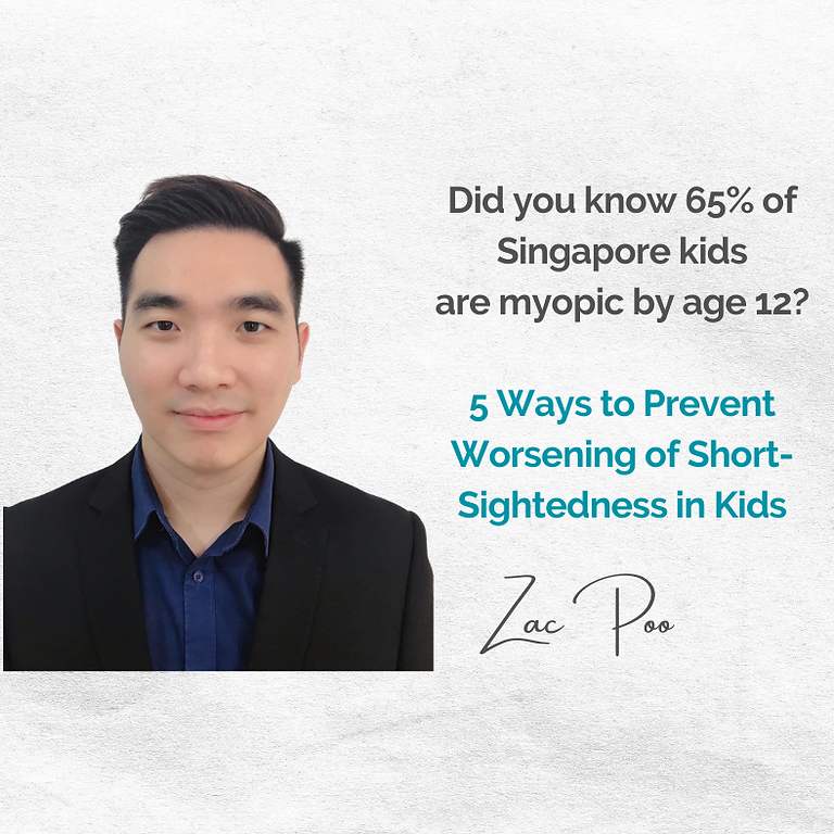 Free October #ExpertChat: 5 Ways to Prevent Worsening of Short-Sightedness in Kids