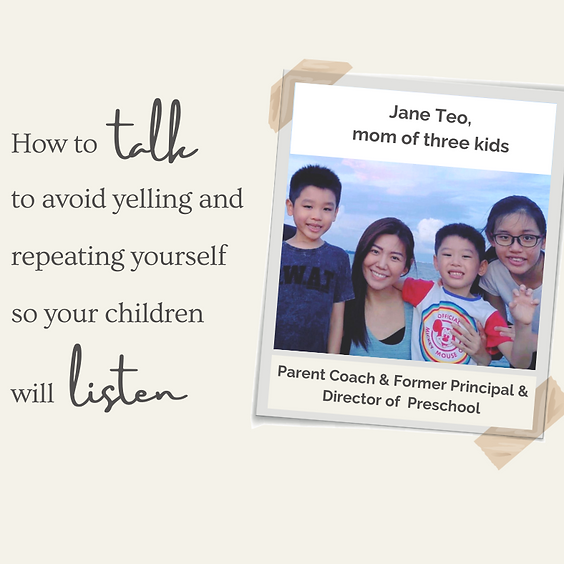 How to talk to avoid yelling and repeating yourself so children will listen