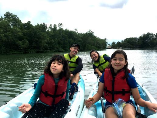 special child kayaking