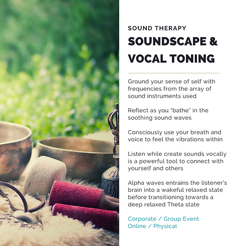 sound healing and therapy