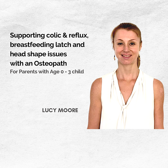 #ExpertChat: Supporting colic & reflux,  breastfeeding latch and head shape issues with an Osteopath