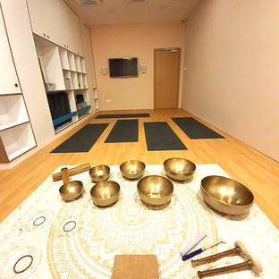 Chakra bowl at mindful space