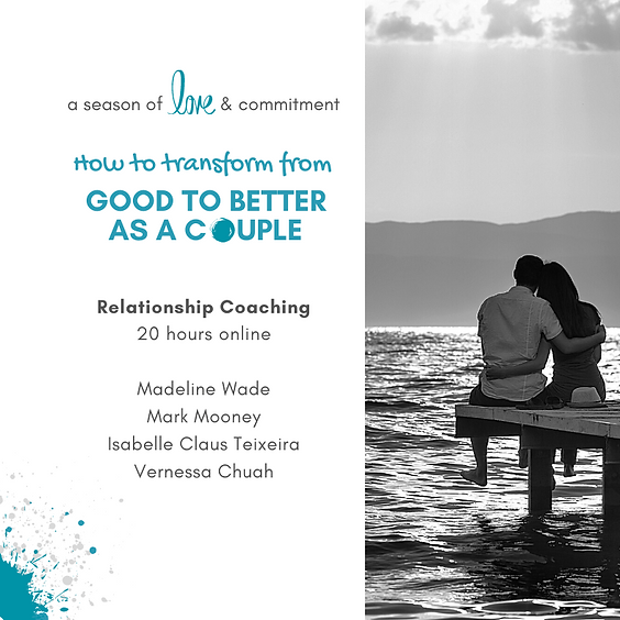 Relationship Coaching: How to transform from good to better as a couple