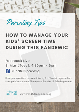 Parenting tips on screen time