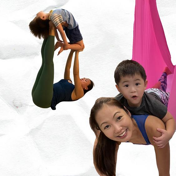 *NEW* Parent & Child Workshop: Mindfulness + Yoga + Aerial