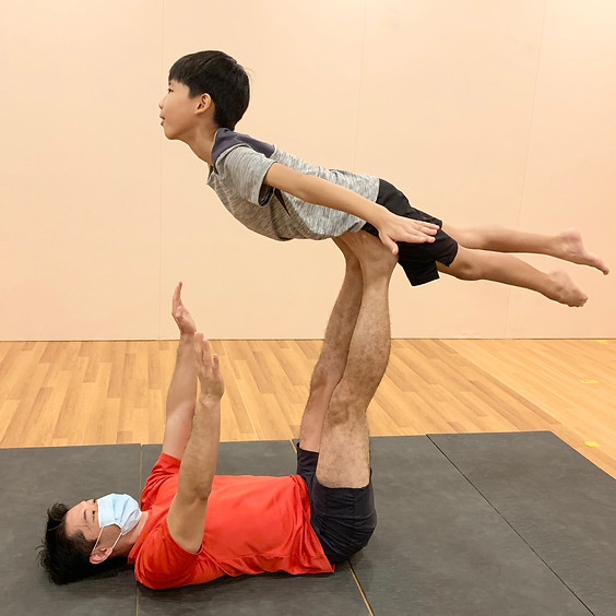 Easter Family AcroYoga (Parent and Child) Workshop