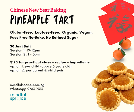 Chinese New Year Baking - Pineapple Tart
