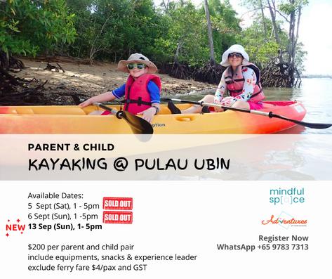 kayaking singapore sold out