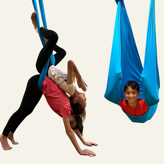 Weekly Kids Mindfulness + Yoga + Aerial