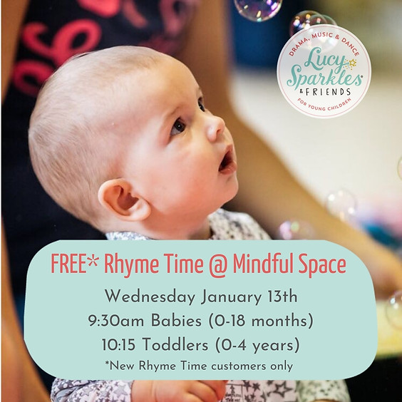 Free on 13 Jan: Parent and Child Rhyme Time