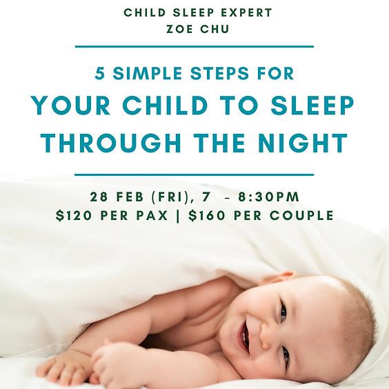 Sleep Training for Infant & Toddler