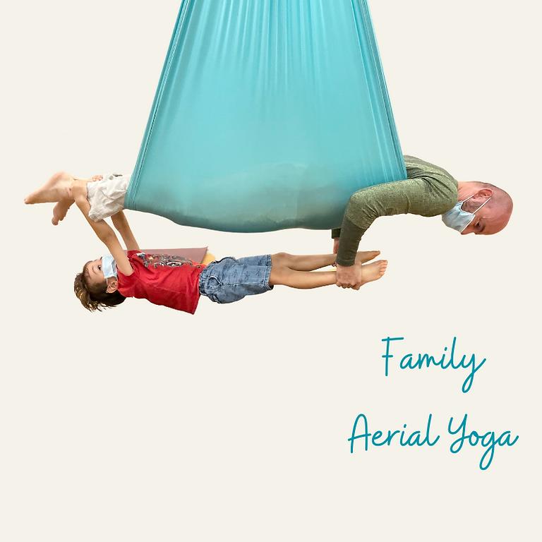 Family Aerial Yoga Play (Parent & Child)