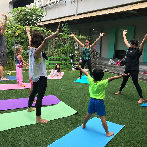 Kids Yoga and Mindfulness (Kids Only)
