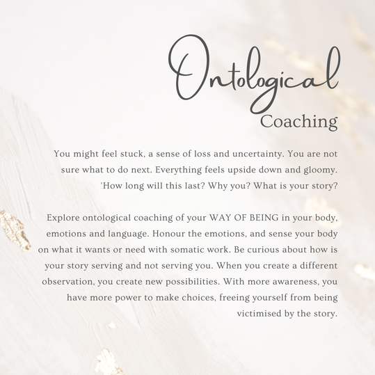 Pregnancy loss and grief coaching ontolo