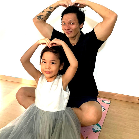 Father's Day Family Yoga