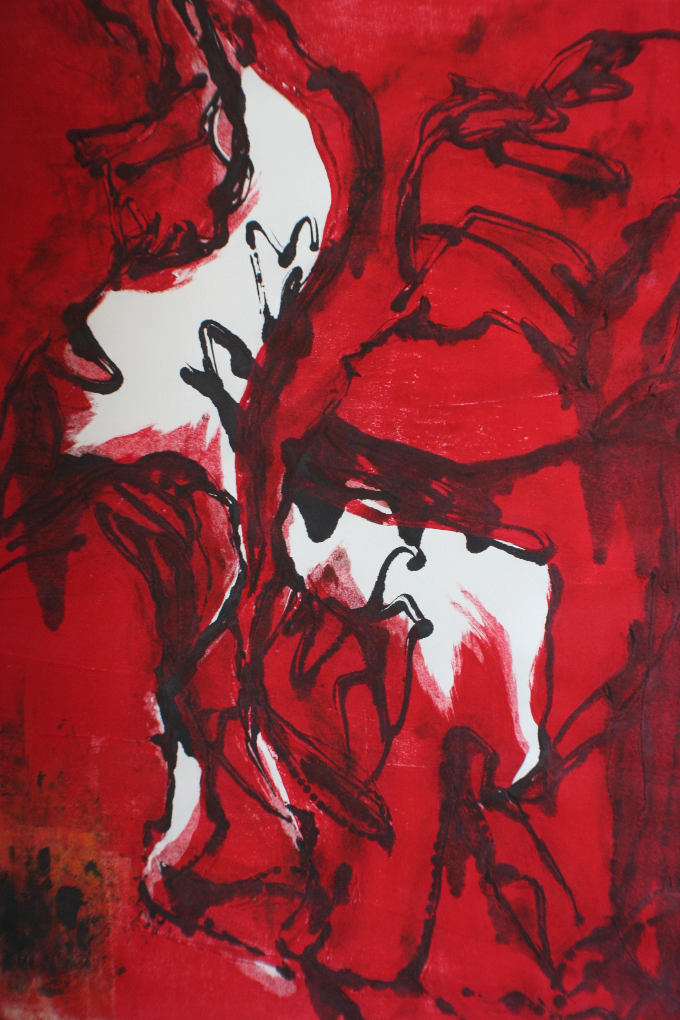 """flamenco in red"""
